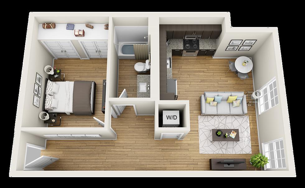 Initial 1 Bedroom (Basic)