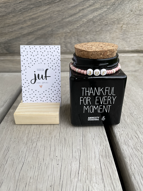 Set Thankful for every moment Juf
