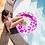 Thumbnail: Zwemband Neon Panterprint 90 cm