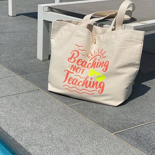 Strandtas - Beaching not Teaching