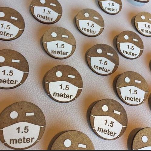 Button 1.5 meter SAONA AALST