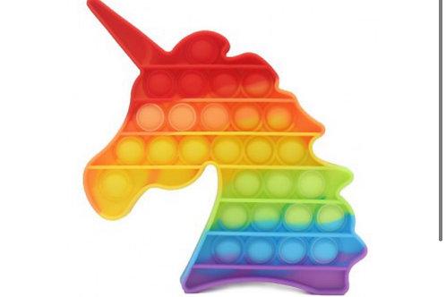 POP it regenboog kleuren Unicorn