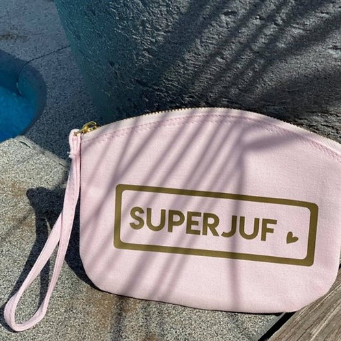 Toilettasje rose - SUPER JUF