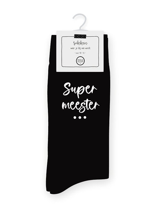 SOKKEN SUPER MEESTER