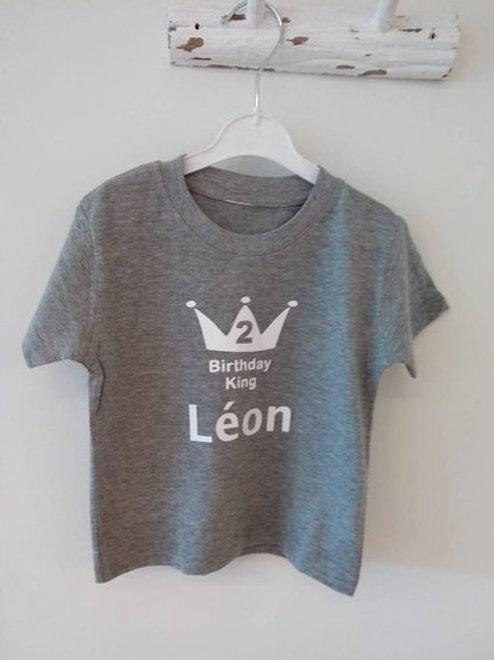 T-shirt voor de jarige