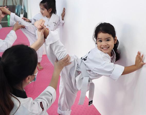 Kickmatics Taekwondo Stretching Side Kick Exercise