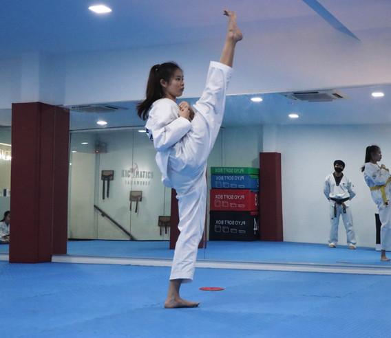 Kickmatics Taekwondo Front Kick Adult Class