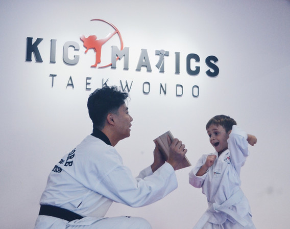 Kickmatics Taekwondo Board Breaking