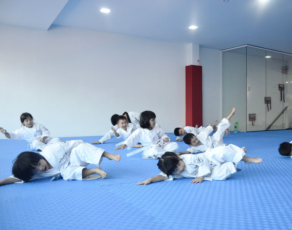 Kickmatics Taekwondo Breakfall Exercise