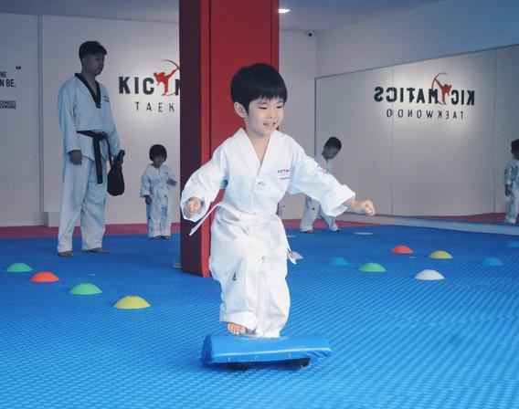 Kickmatics Taekwondo Tots Class Warm Up