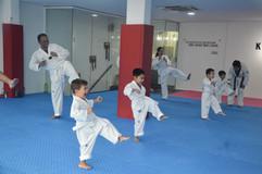 Kickmatics Taekwondo Family Class 3