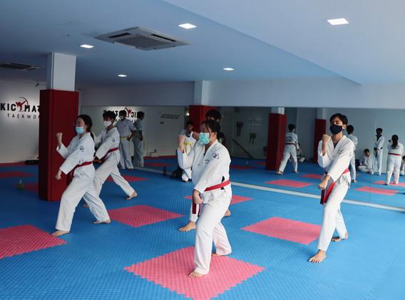 Kickmatics Taekwondo Sissors Block Practice Teens