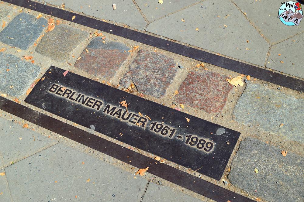 Placas del Muro de Berlín | Un Pin en el Mapa