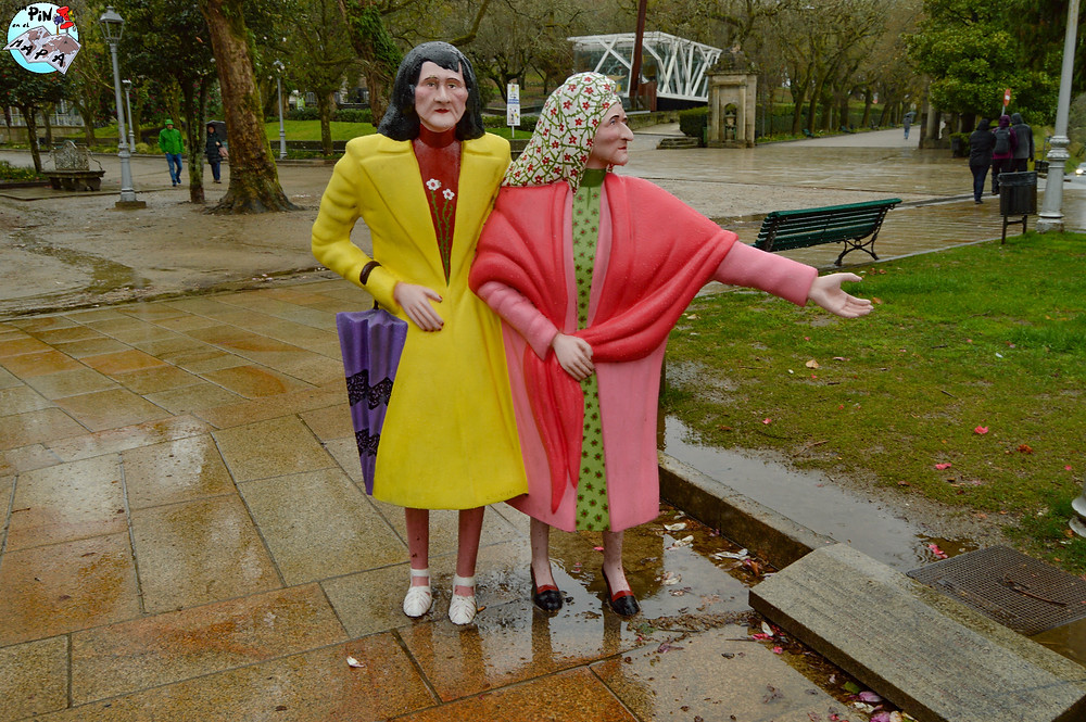 Las dos Marías en el Parque de la Alameda | Un Pin en el Mapa