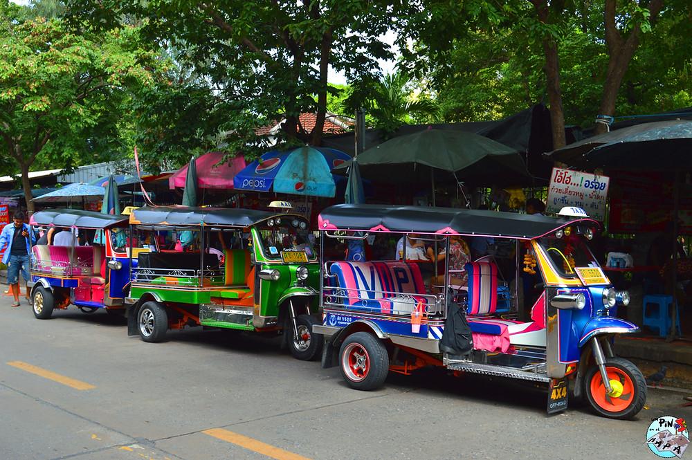Tuktuks Bangkok | Un Pin en el Mapa