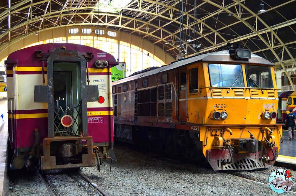 Tren Tailandia | Un Pin en el Mapa