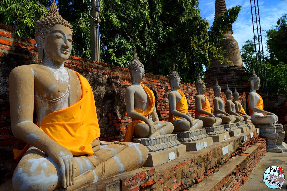 Wat Yai Chaimongkhon, Tailandia | Un Pin en el Mapa