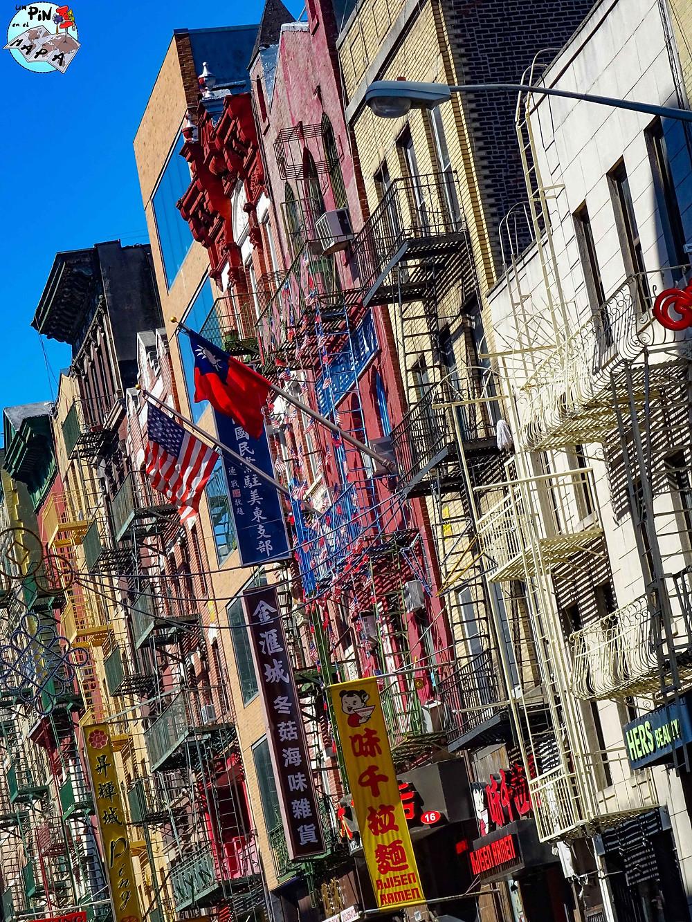 Chinatown de Nueva York   Un Pin en el Mapa