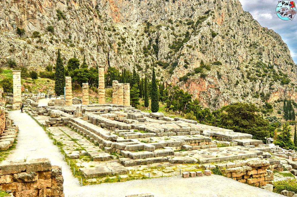 El Templo de Apolo en Delfos | Un Pin en el Mapa