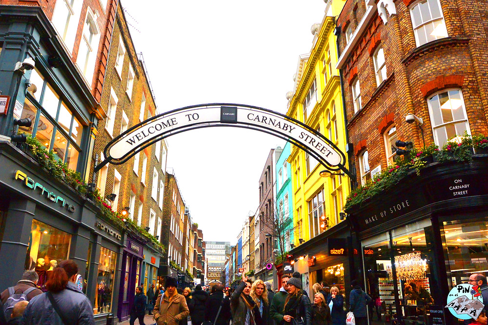 Carnaby Street | Un Pin en el Mapa