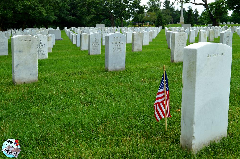 Cementerio de Arlington | Un Pin en el Mapa