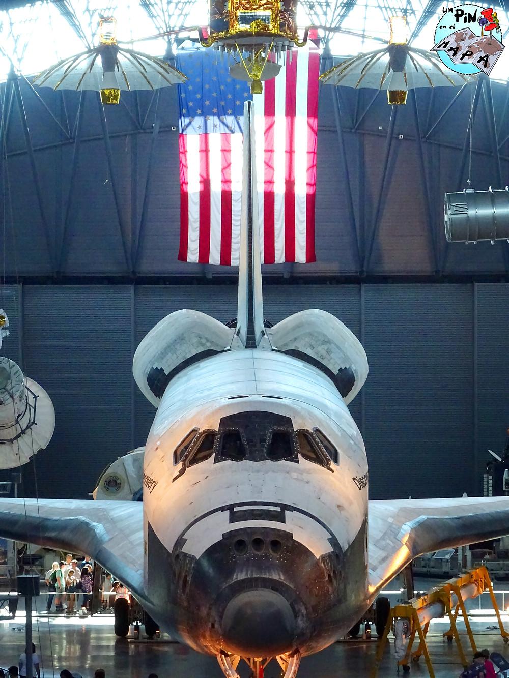 Transbordador espacial Discovery en Steven F. Udvar – Hazy Center | Un Pin en el Mapa