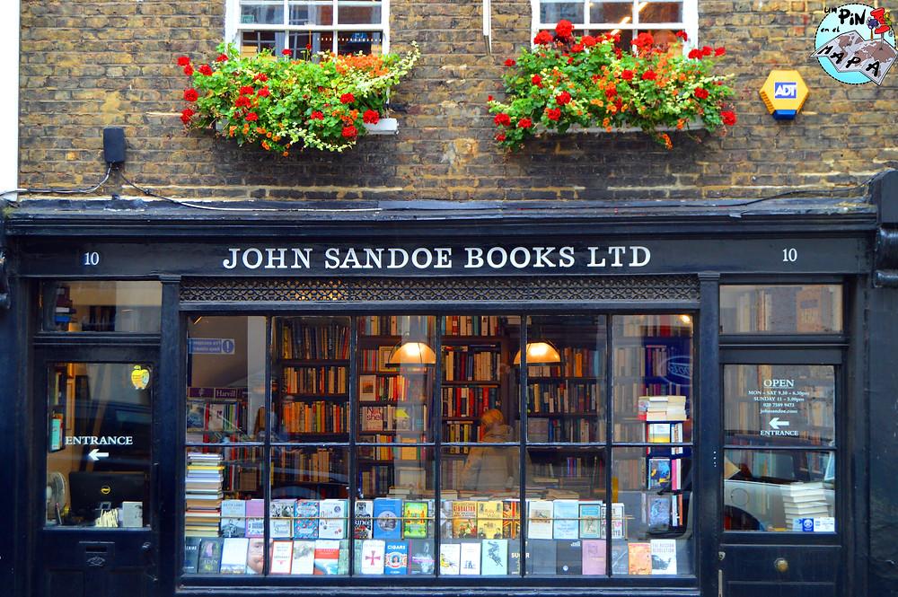 John Sandoe Books | Un Pin en el Mapa