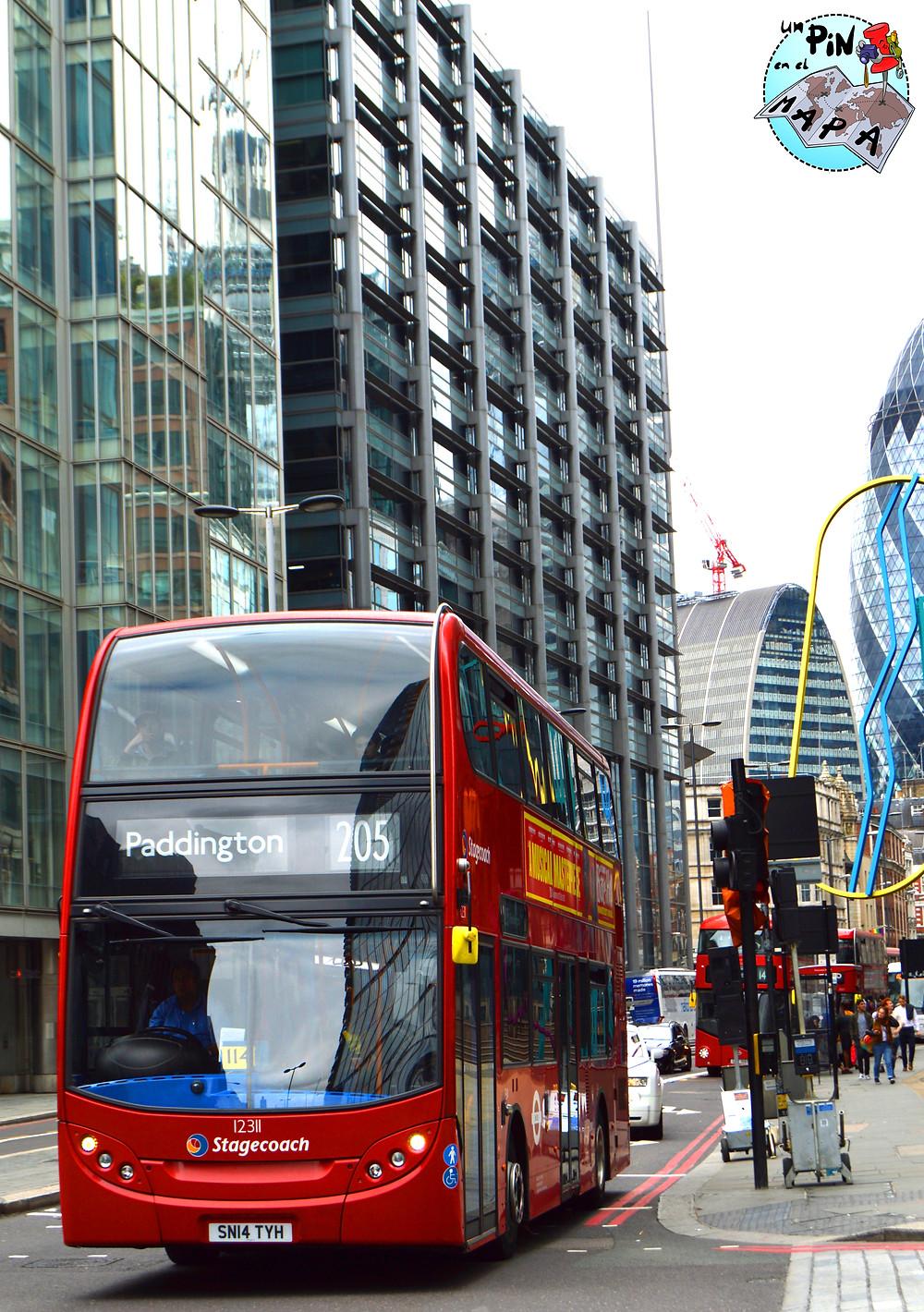 Bus en Londres | Un Pin en el Mapa