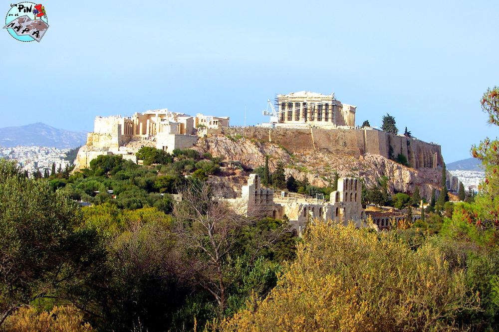 Colina de Filopappos, Atenas | Un Pin en el Mapa