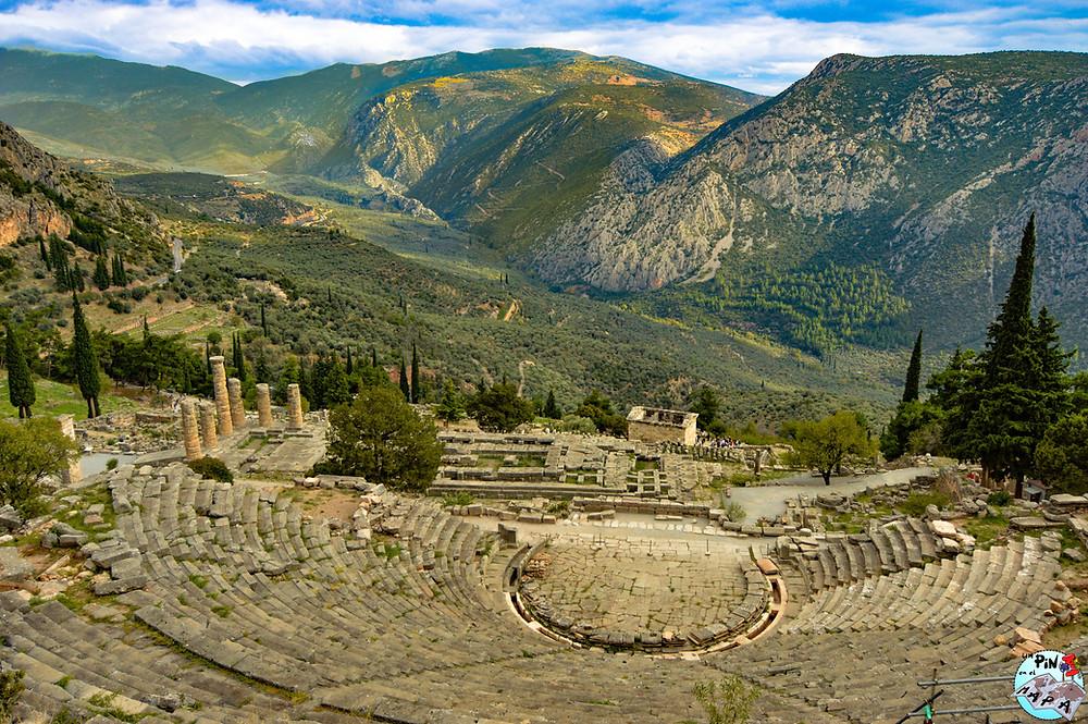 Teatro de Delfos | Un Pin en el Mapa