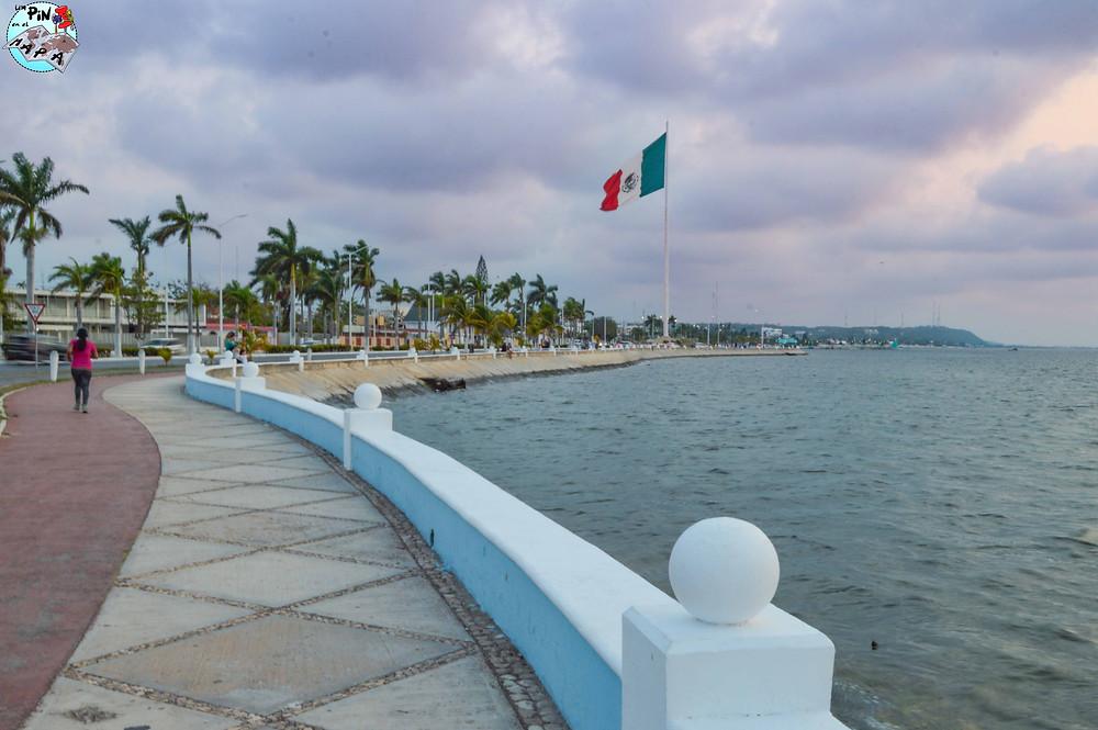 Malecón de Campeche | Un Pin en el Mapa