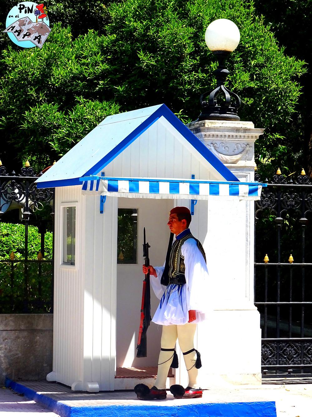 Cambio de guardia, Atenas | Un Pin en el Mapa