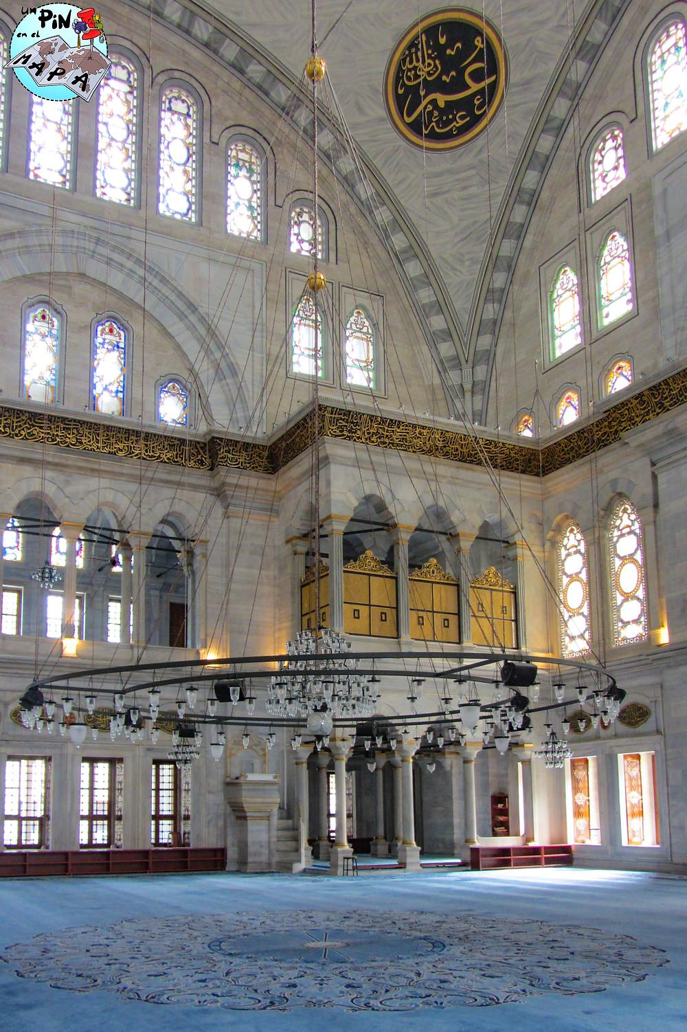Mezquita de Nuruosmaniye, Estambul | Un Pin en el Mapa