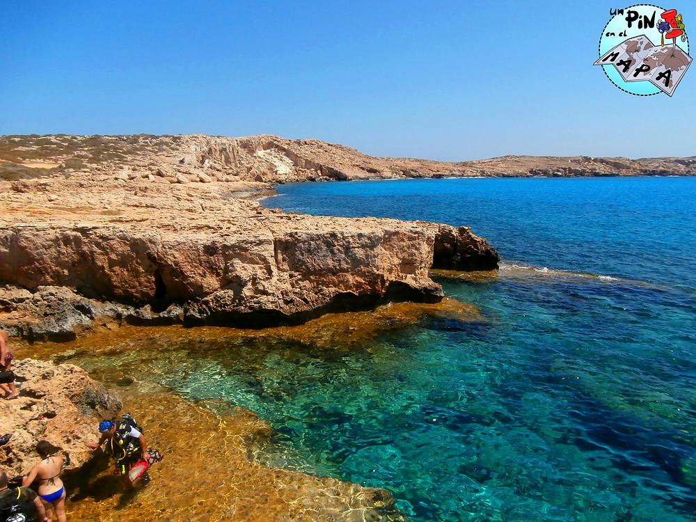 Cabo Greco Chipre | Un Pin en el Mapa