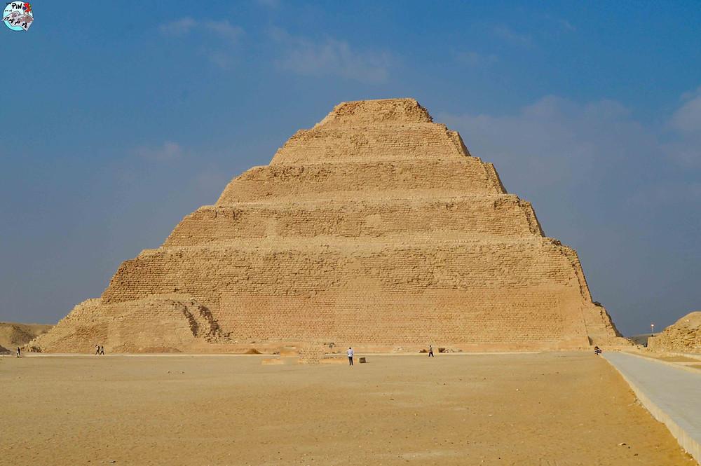 Pirámide Escalonada de Djoser, Saqqara | Un Pin en el Mapa