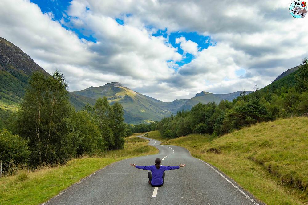 Glen Nevis Road C1162, Escocia | Un Pin en el Mapa