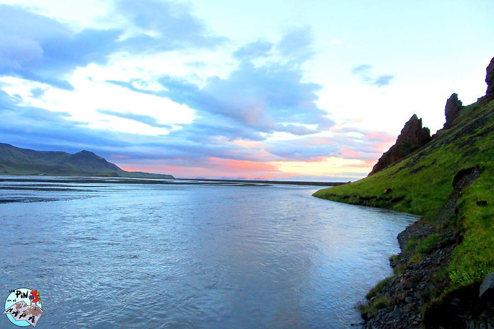 Sol de medianoche, Islandia | Un Pin en el Mapa