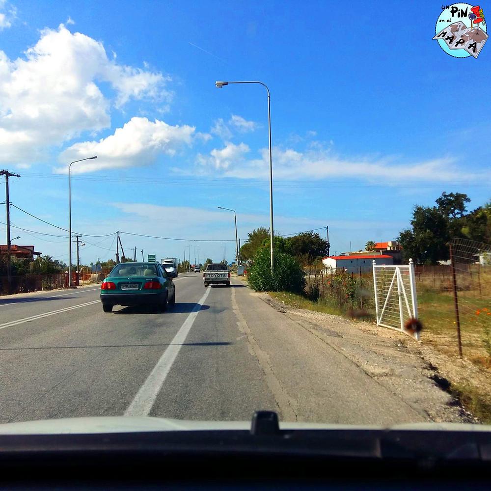 Conducción en Grecia | Un Pin en el Mapa