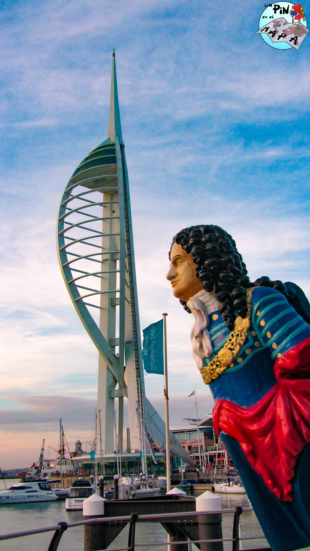 Spinnaker Tower en Portsmouth | Un Pin en el Mapa