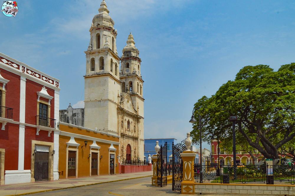 Catedral de Nuestra Señora de la Purísima Concepción, Campeche | Un Pin en el Mapa