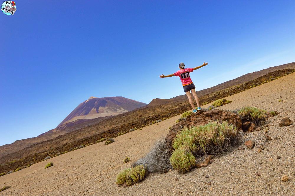 Vistas del Teide desde las Siete Cañadas | Un Pin en el Mapa