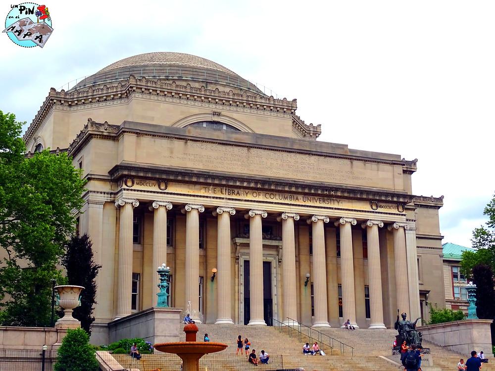 Columbia University, Nueva York | Un Pin en el Mapa