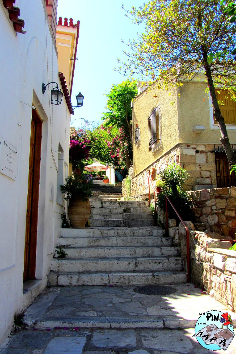 Anafiotika, Atenas | Un Pin en el Mapa
