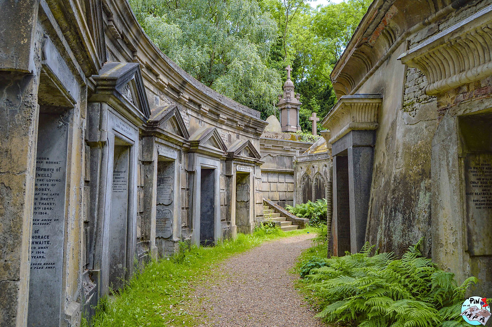 Cementerio de Highgate, Londres | Un Pin en el Mapa