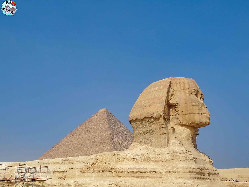 La Esfinge de Giza | Un Pin en el Mapa