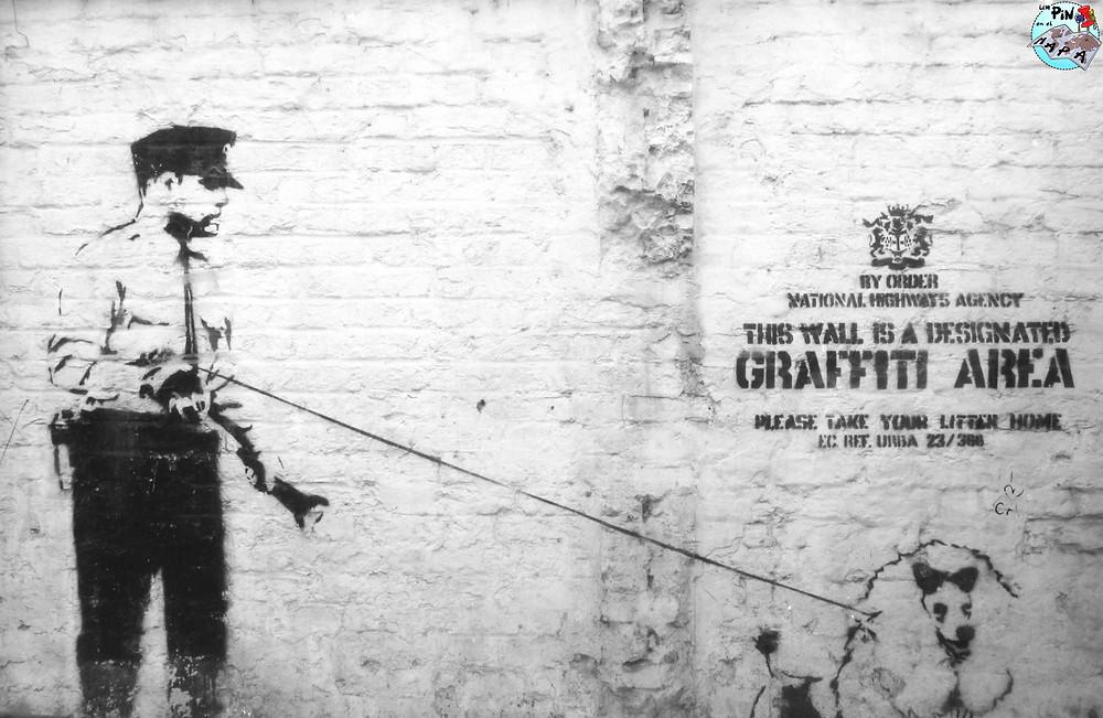 Ruta por los graffitis de Banksy | Un Pin en el Mapa