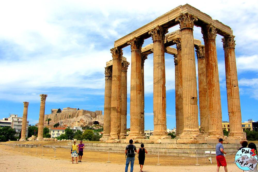 Templo de Zeus Olímpico, Atenas | Un Pin en el Mapa