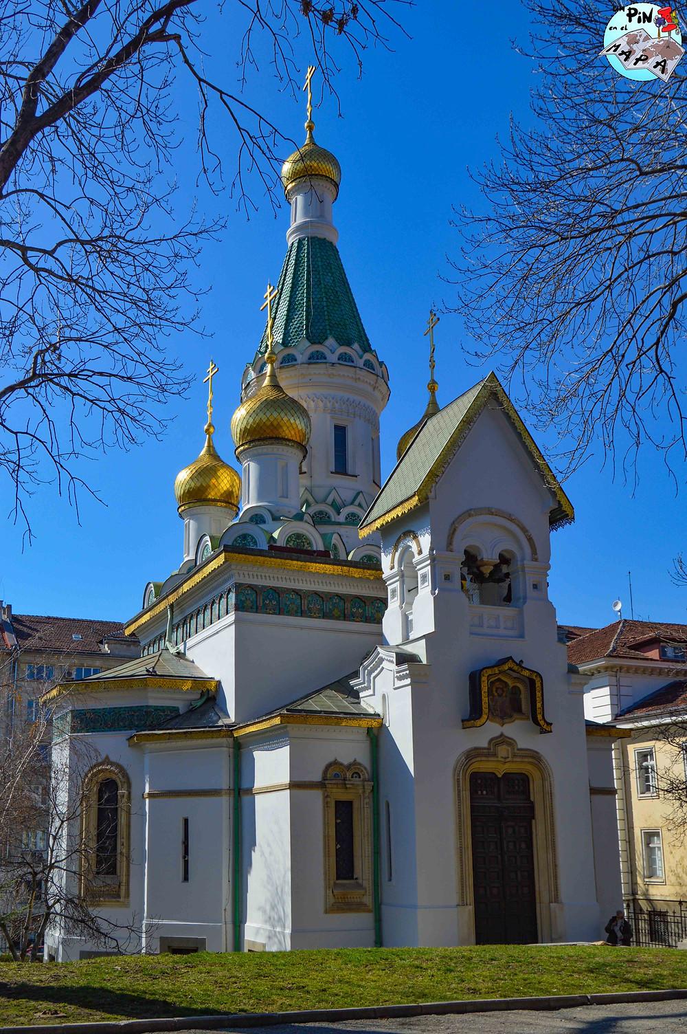Iglesia rusa o Iglesia de San Nicolás el Milagroso | Un Pin en el Mapa