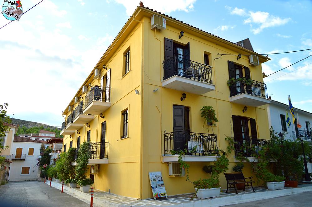 Hotel Galaxidi, Grecia | Un Pin en el Mapa
