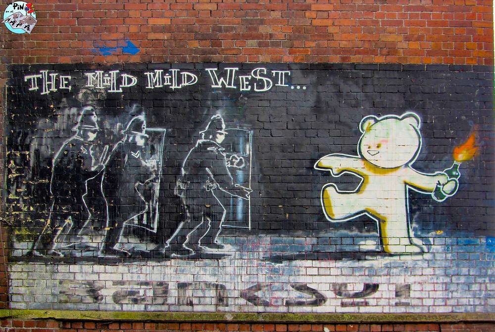 Grafiti de Banksy en Bristol | Un Pin en el Mapa
